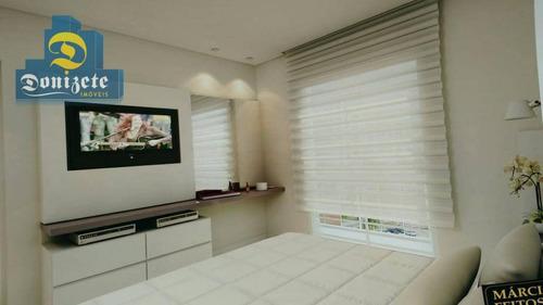 apartamento residencial à venda, campestre, santo andré. - ap9069