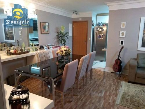 apartamento residencial à venda, campestre, santo andré. - ap9071