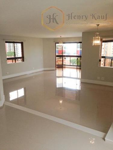 apartamento residencial à venda, campo belo, são paulo - ap1044. - ap1044
