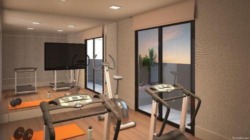 apartamento residencial à venda, campo comprido, curitiba. - ap0521