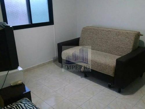 apartamento  residencial à venda, campo da aviação, praia grande. - ap0028