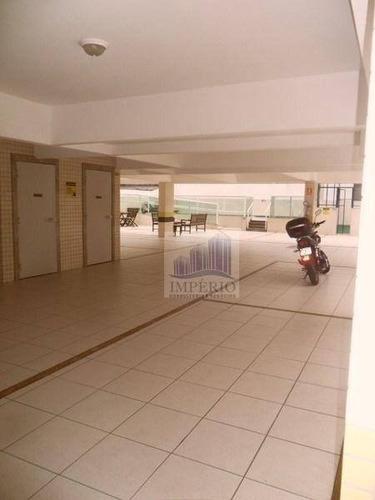 apartamento  residencial à venda, campo da aviação, praia grande. - ap0046