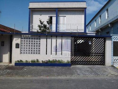 apartamento residencial à venda, campo da aviação, praia grande. - ap0073