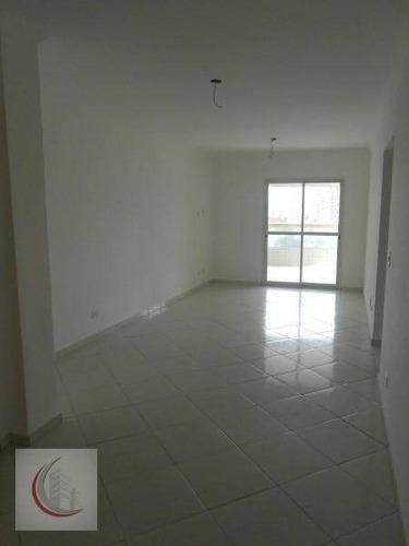apartamento  residencial à venda, campo da aviação, praia grande. - ap0290