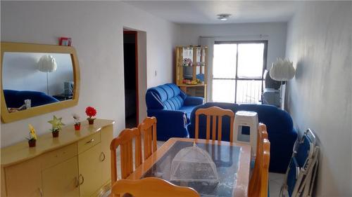apartamento  residencial à venda, campo da aviação, praia grande. - ap0315