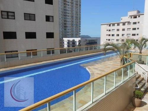 apartamento  residencial à venda, campo da aviação, praia grande. - ap0325