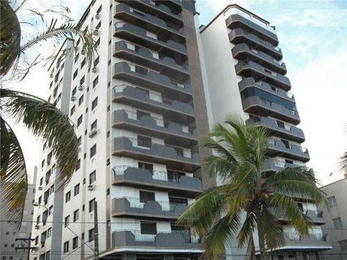 apartamento  residencial à venda, campo da aviação, praia grande. - ap0680