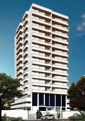 apartamento  residencial à venda, campo da aviação, praia grande. - ap0786