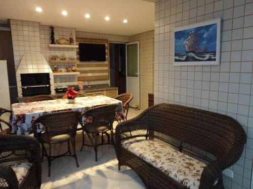 apartamento residencial à venda, campo da aviação, praia grande. - ap0875