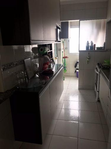 apartamento residencial à venda, campo da aviação, praia grande. - ap1022