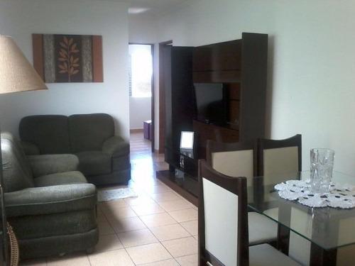 apartamento residencial à venda, campo da aviação, praia grande. - ap1029