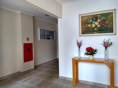 apartamento residencial à venda, campo da aviação, praia grande. - ap2307