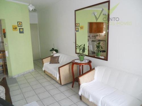 apartamento  residencial à venda, campo da aviação, praia grande. - codigo: ap0125 - ap0125