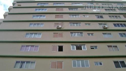apartamento  residencial à venda, campo da aviação, praia grande. - codigo: ap0520 - ap0520