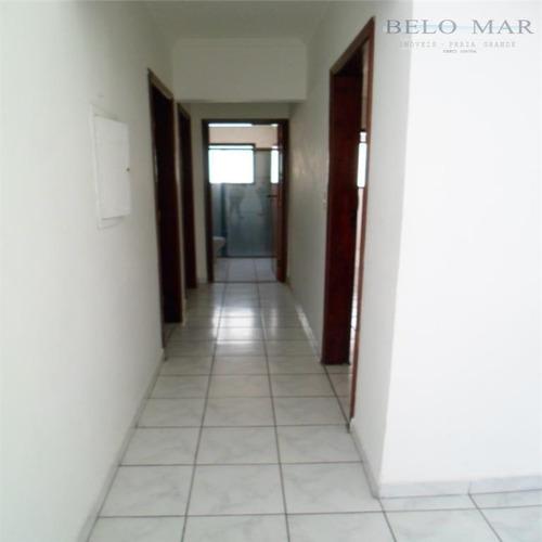 apartamento  residencial à venda, campo da aviação, praia grande. - codigo: ap0819 - ap0819