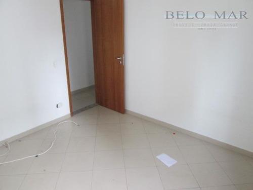 apartamento residencial à venda, campo da aviação, praia grande. - codigo: ap0924 - ap0924