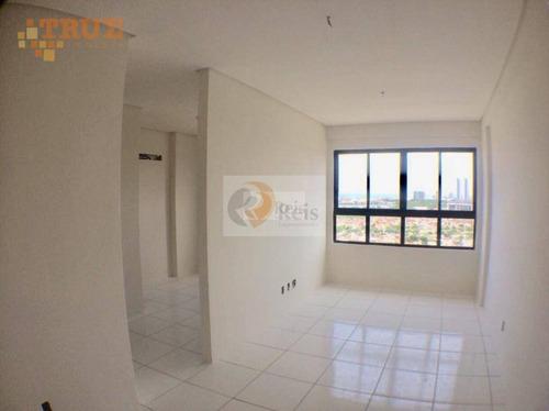 apartamento residencial à venda, campo grande, recife. - ap2113