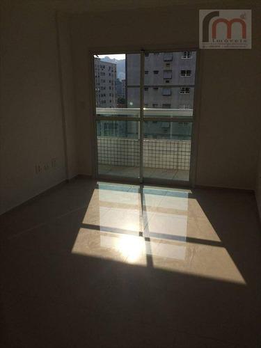 apartamento residencial à venda, campo grande, santos - ap0137. - ap0137