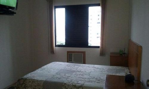 apartamento residencial à venda, campo grande, santos. - ap0660