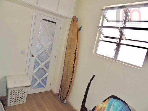 apartamento  residencial à venda, campo grande, santos. - codigo: ap1905 - ap1905