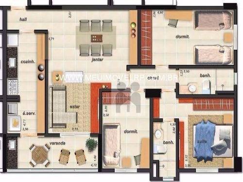 apartamento residencial à venda, campos elíseos, ribeirão preto - ap0606. - ap0606