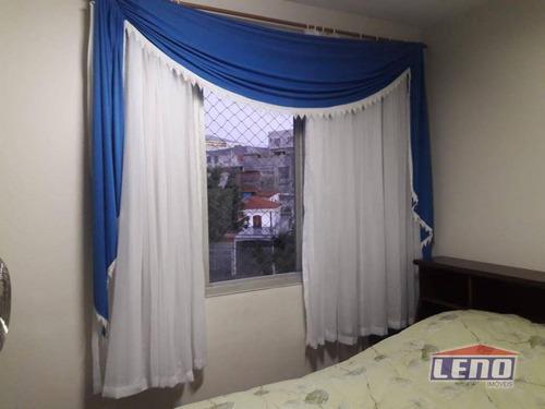 apartamento residencial à venda, cangaíba, são paulo. - ap0347