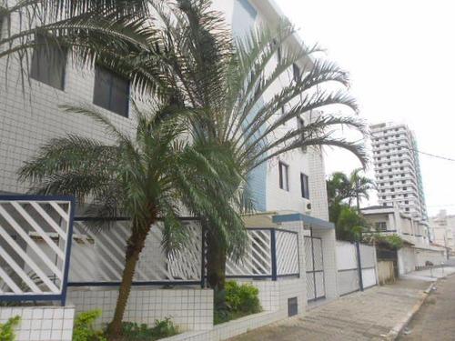 apartamento residencial à venda, canto do forte, praia grand