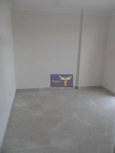 apartamento residencial à venda, canto do forte, praia grande. - ap0222