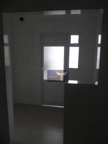 apartamento residencial à venda, canto do forte, praia grande. - ap0223