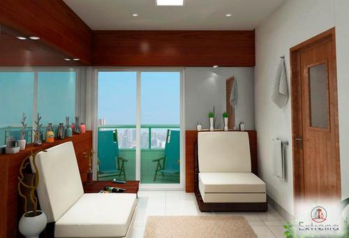 apartamento residencial à venda, canto do forte, praia grande. - ap0340