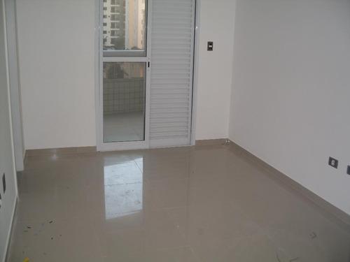 apartamento  residencial à venda, canto do forte, praia grande. - ap0397