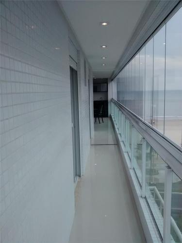apartamento  residencial à venda, canto do forte, praia grande. - ap0497