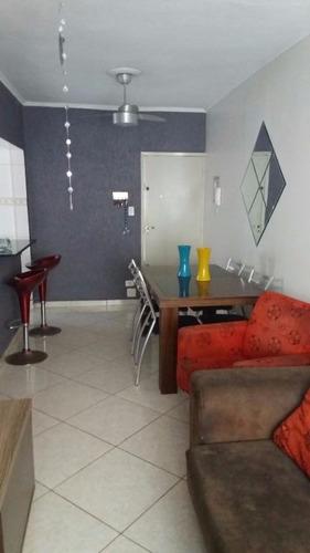 apartamento  residencial à venda, canto do forte, praia grande. - ap0663