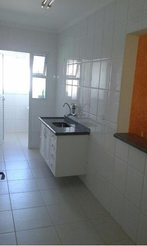 apartamento  residencial à venda, canto do forte, praia grande. - ap0675