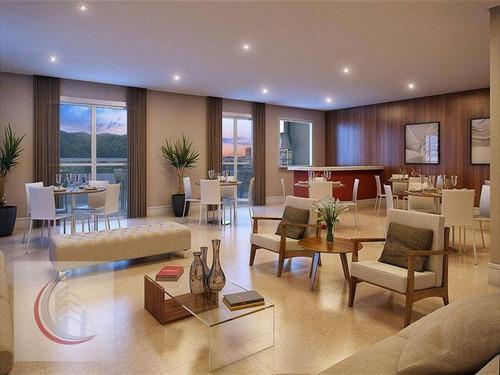 apartamento residencial à venda, canto do forte, praia grande. - ap1690
