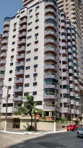 apartamento  residencial à venda, canto do forte, praia grande. - codigo: ap0008 - ap0008