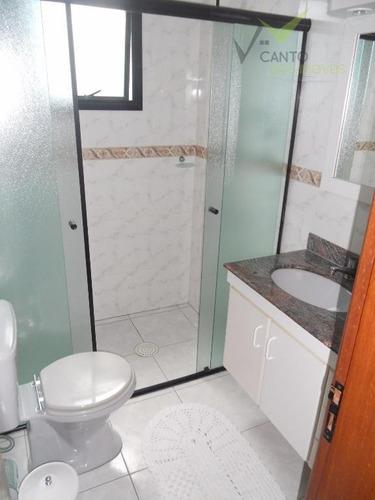 apartamento  residencial à venda, canto do forte, praia grande. - codigo: ap0095 - ap0095