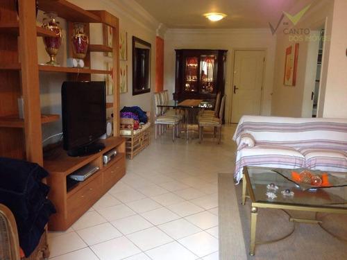 apartamento  residencial à venda, canto do forte, praia grande. - codigo: ap0102 - ap0102