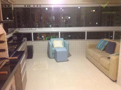 apartamento  residencial à venda, canto do forte, praia grande. - codigo: ap0103 - ap0103