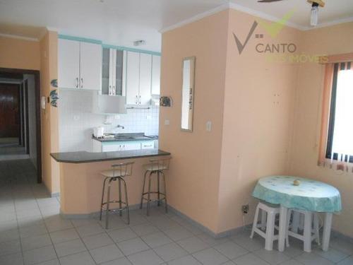 apartamento  residencial à venda, canto do forte, praia grande. - codigo: ap0127 - ap0127