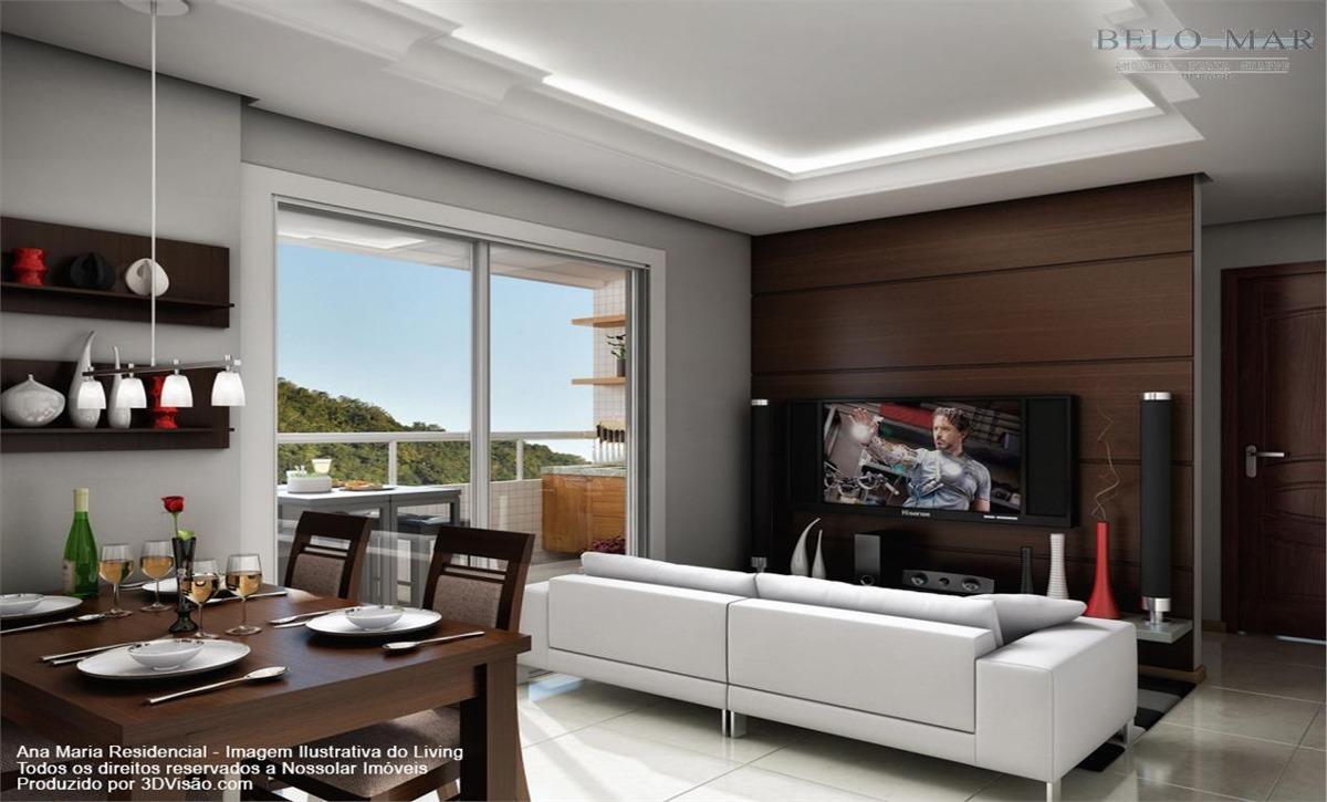 apartamento residencial à venda, canto do forte, praia grande. - codigo: ap0864 - ap0864