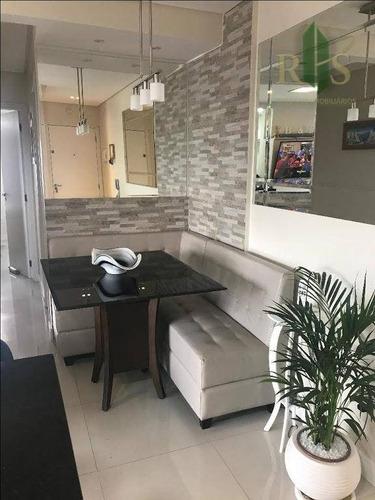 apartamento residencial à venda, carandiru, são paulo. - ap0207