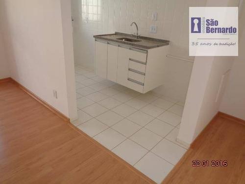 apartamento residencial à venda, cariobinha, americana. - ap0420
