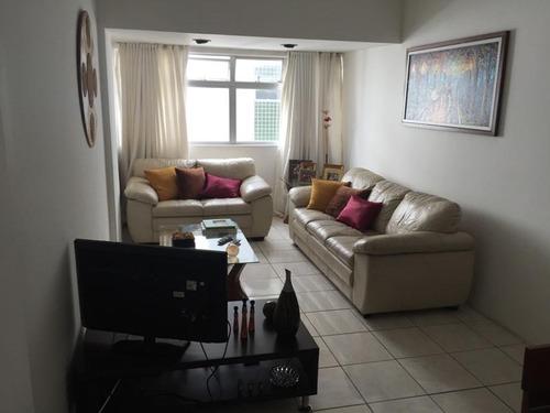 apartamento residencial à venda, casa amarela, recife. - ap0717
