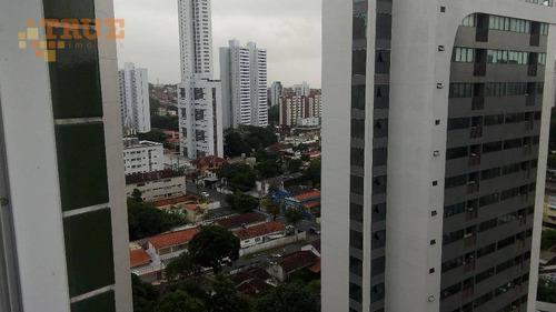 apartamento residencial à venda, casa amarela, recife. - ap2117