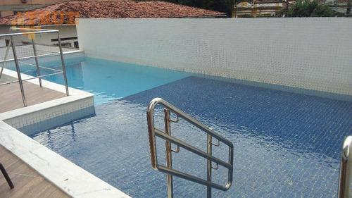 apartamento residencial à venda, casa amarela, recife. - ap2436