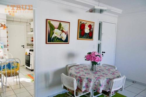 apartamento residencial à venda, casa amarela, recife. - ap2468