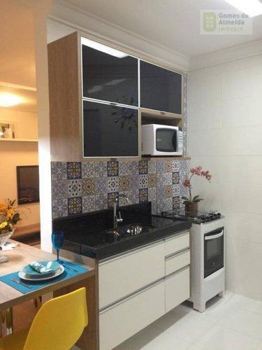 apartamento residencial à venda, casa branca, santo andré - ap1820. - ap1820
