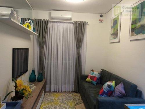 apartamento residencial à venda, casa branca, santo andré - ap1833. - ap1833