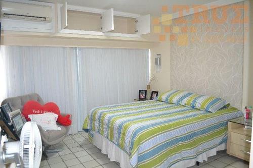 apartamento  residencial à venda, casa forte, recife. - ap0419